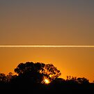 Jet Streaming Horizon by outbackwriter