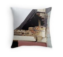 After the Fire-Concerns Throw Pillow