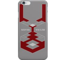 Mark of Resolve. iPhone Case/Skin