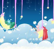Pao & Tao: Sleepy Sky by Sangitchi