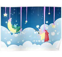 Pao & Tao: Sleepy Sky Poster