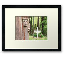 Forever watching over you... Framed Print