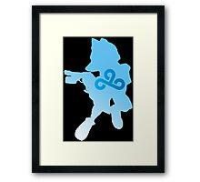 Fox McCloud Laser  Framed Print