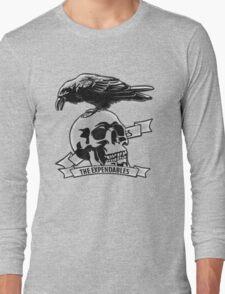The Expendables (Design Distort Motif) Long Sleeve T-Shirt