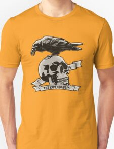 The Expendables (Design Distort Motif) Unisex T-Shirt