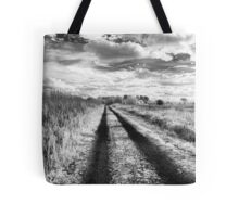 Walk the Stark Road of Infrared Tote Bag