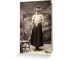 Ms. Damselfly Greeting Card