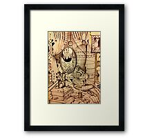 Of Mice And Moon Framed Print