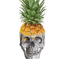 Pineapple skull by ObscureM