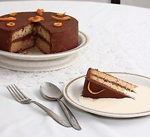 Chocolate Orange Cake by Harry Purves