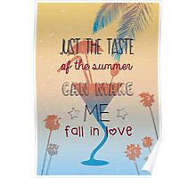 Just the taste of the summer Poster