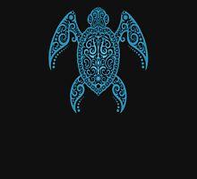 Intricate Blue Sea Turtle Unisex T-Shirt