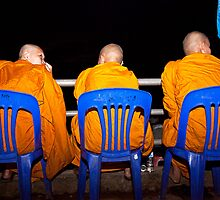 Three Wise Men - Phon Phisai, Thailand by Cameron Christie