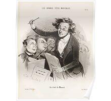 Houghton 44W 2685 Les bonnes têtes musicales 13 Poster