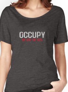 Support Your Occupation - [Black] Women's Relaxed Fit T-Shirt