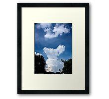 Apocalyptic Cumulus Framed Print