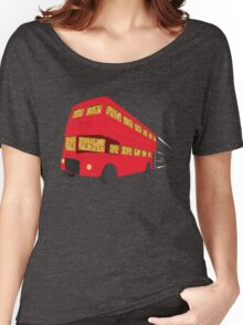 Universal Cereal Bus Women's Relaxed Fit T-Shirt