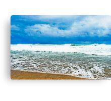 See the sea shore Canvas Print