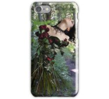 Some flowers never see the light iPhone Case/Skin