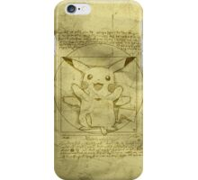 Vitruvian Mon iPhone Case/Skin