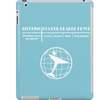Sterling Cooper Draper Pryce iPad Case/Skin