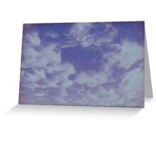 Future Skies Greeting Card