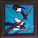 Magpies by Suzi Linden