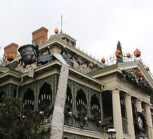Haunted Mansion Nightmare Before Christmas by TOTomorrowland