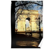 Reflective Triomphe Poster