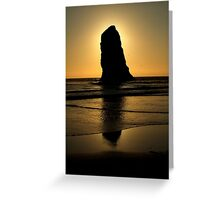 Coastal Sunset ~ Part Two Greeting Card