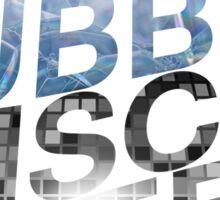 Double Bubble Disco Queen Sticker