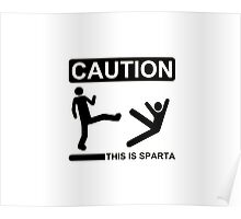This is Sparta ! Poster