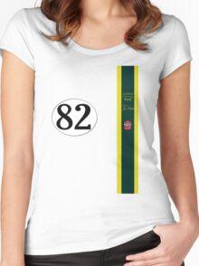 Jim Clark 1965 Indy 500 winning team Lotus Women's Fitted Scoop T-Shirt