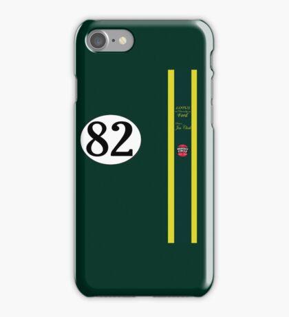 Jim Clark 1965 Indy 500 winning team Lotus iPhone Case/Skin