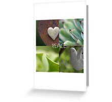 Peace  - JUSTART ©  Greeting Card