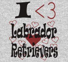 I <3 Labrador Retrievers by veganese
