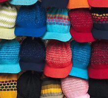 Knit caps by Richard G Witham
