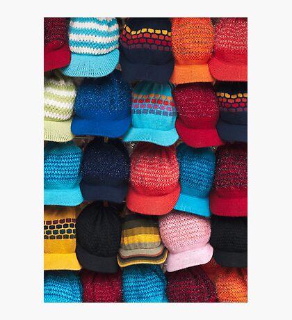 Knit caps Photographic Print