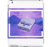 snes cuh iPad Case/Skin