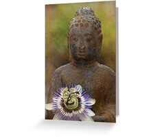 Zen  - JUSTART ©  Greeting Card