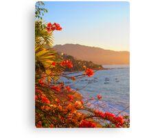 Late afternoon at the beach, Puerto Vallarta, Mexico - Una Tarde en la Playa Canvas Print