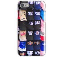 An array of baseball caps iPhone Case/Skin