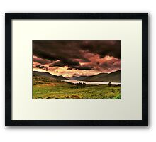 Natures Chaos Framed Print