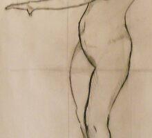 gesture drawing 1 by Kenneth Hildreth