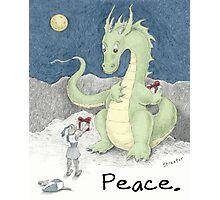 Peace Dragon Photographic Print