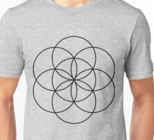 Seed Of Life - Black Unisex T-Shirt
