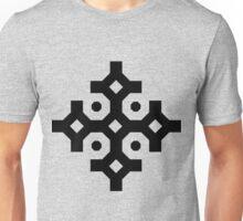 Black Snowflake Unisex T-Shirt