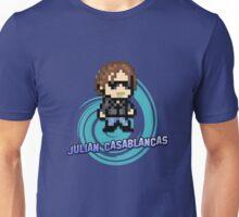 IndieRockGames | Julian Casablancas 8bits Unisex T-Shirt