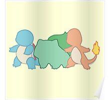 Choose a Pokemon ! Poster