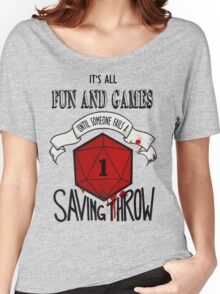 Its All Fun And Games Women's Relaxed Fit T-Shirt
